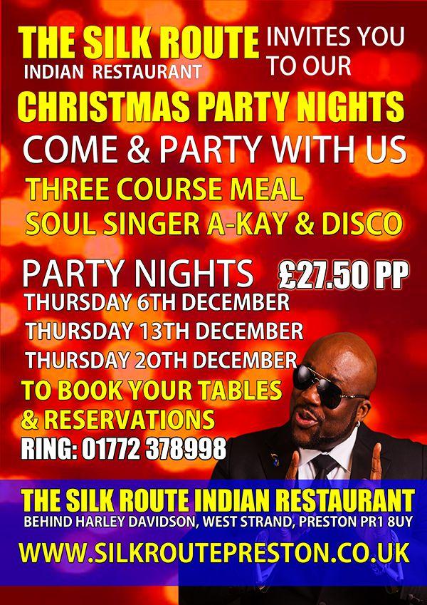 Silk Route Indian Restaurant Preston Christmas 2018