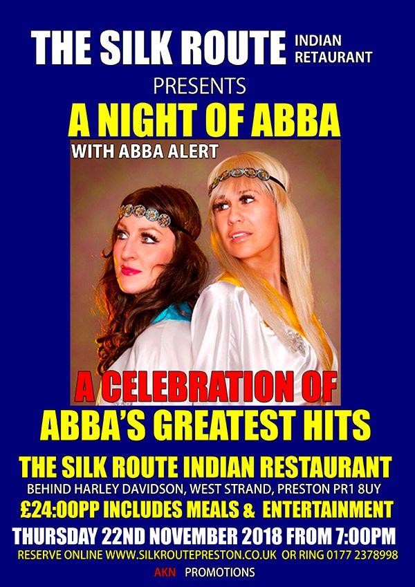 Silk Route Indian Restaurant Preston November Abba