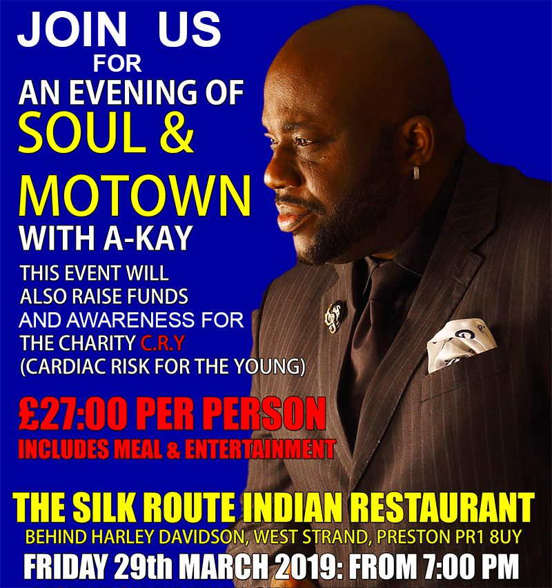 Silk Route Soul Motown Evening MARCH 29 2019